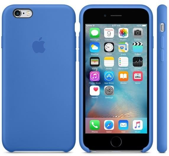 cheap for discount 7ca23 2bff2 Apple Silicone case iPhone 6S Plus / 6 plus - Royal Blue