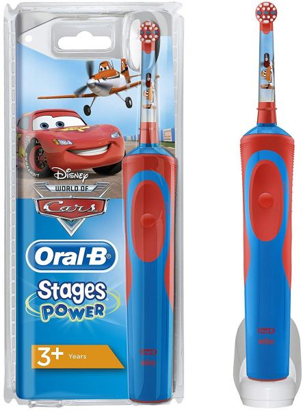Oral B Stages Power Cars Electric Toothbrush