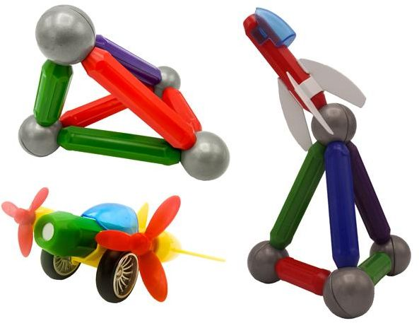 MAG FRIEND Magnetic Sticks And Ball DIY Building And