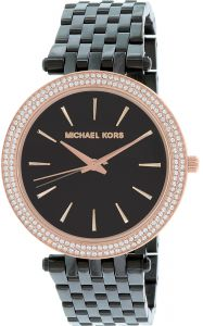 Michael kors michael korsmichael korsdiesel uae souq michael kors darci womens black dial stainless steel band watch mk3407 gumiabroncs Choice Image
