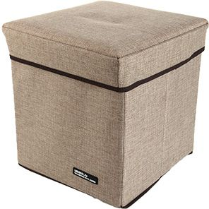 Exceptional Minisosimple Linen Storage Box, Khaki