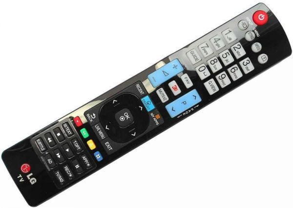 how to change numbers to letters on lg tv remote