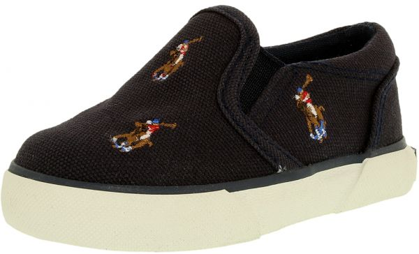 Polo Ralph Lauren Navy Fashion Sneakers For Boys