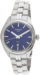 f5f6acfab Tissot Women's Blue Dial Stainless Steel Band Watch - T101.210.11.041.00