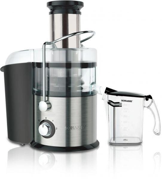 sonashi power juicer 800w stainless steel spj 502 price review and buy in dubai abu dhabi. Black Bedroom Furniture Sets. Home Design Ideas