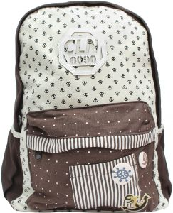 e8d56616050d9 Cln School Bag - Brown