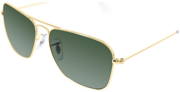 a437df162 Ray-Ban Caravan Aviator Men's Sunglasses - 55-158-140 mm