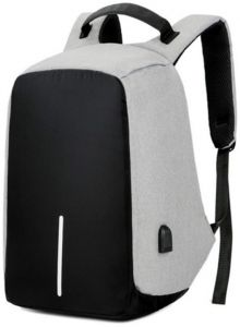 b612ab306996 Anti-theft Unisex Laptop Notebook Backpack Travel School Bag w  USB Charger  Port-FER1002629