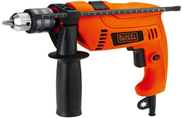 black and decker drill black amp decker 650w 13mm hammer drill with variable speed 12616