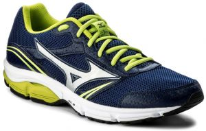 Buy Mizuno Wave Impetus 3 Running Shoes for Men, Blue/Silver/Lime -  Athletic Shoes   UAE   Souq