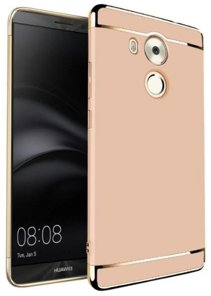 buy popular c3085 33f4a Huawei Mate 8 360 Degree Protection Gold Hard Case