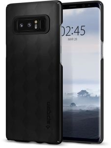 Spigen Samsung Galaxy Note 8 Thin Fit cover / case - Matte Black