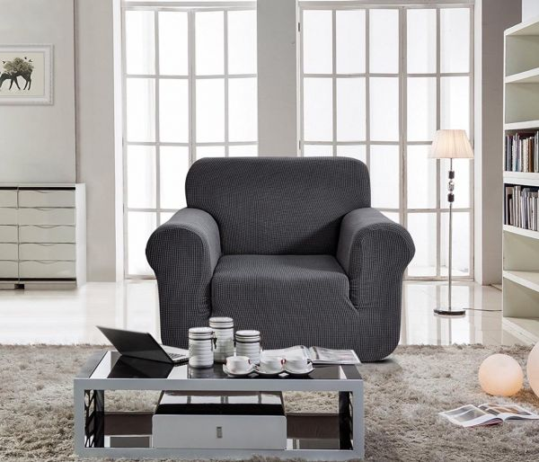 Home Decor Sofa Cover Seater for e Grey Color price review and