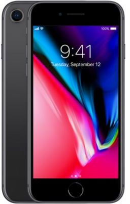 Apple iPhone 8 without FaceTime - 64GB, 4G LTE, Space Grey