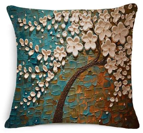 Pillow cover tree linen sofa cushion cover price review for Sofa cushion covers dubai