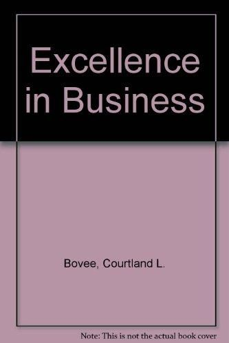 Excellence in Business ,Ed. :1