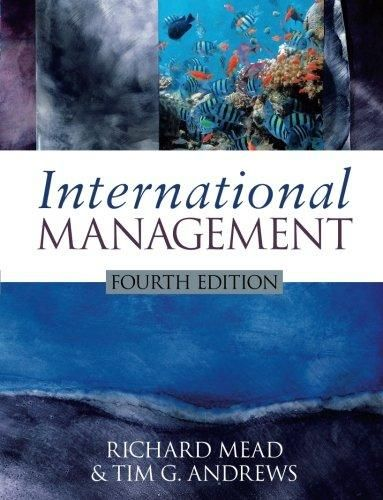 International Management: Culture and Beyond ,Ed. :4