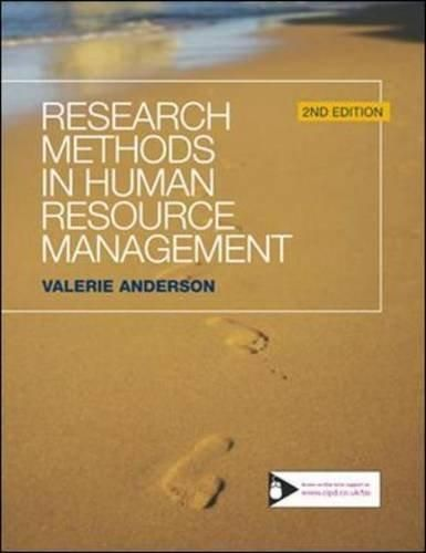 Research Methods in Human Resource Management ,Ed. :2