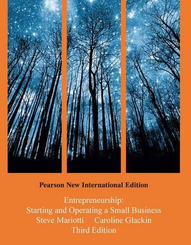 Entrepreneurship: Starting and Operating a Small Business, Plus MyMarketingLab without Etext: Pearson New Internaional Edition ,Ed. :3