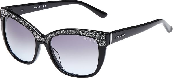b77591fe7f Guess by Marciano Square Women s Sunglasses - GM0730-01B-55 - 55 -16 -135 mm