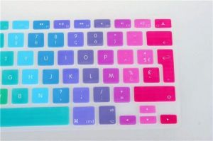 Lovely Smart Silicone Keyboard Protector Skin Cover For Macbook Pro Air Retina 11 13 15 17 Inch