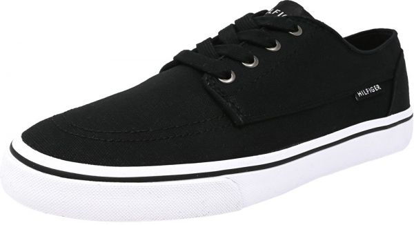 Tommy Hilfiger Black Fashion Sneakers For Men
