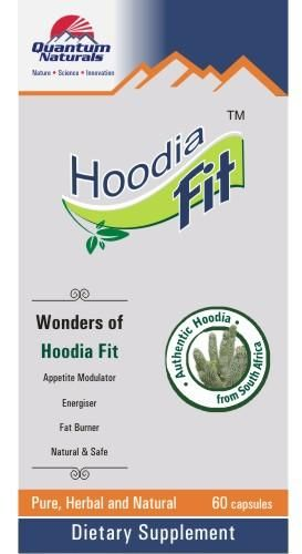 Quantum Naturals Hoodia Fit Weight Loss 60 Capsules