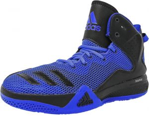 adidas RG3 Energy Boost Basketball Shoes for Boys, BlueYellow
