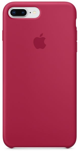 on sale bf8ff 3b6a4 Apple iPhone 8 Plus / 7 Plus Silicone Case - Rose Red, MQH52ZM/A