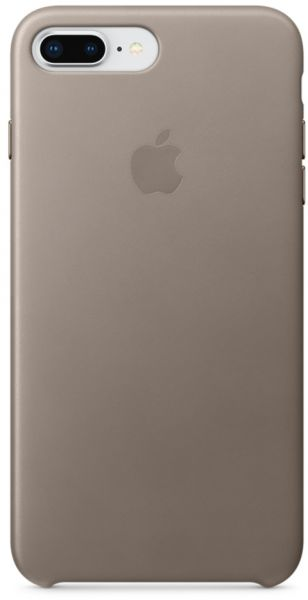 low priced 5a1cb b2d84 Apple iPhone 8 Plus / 7 Plus Leather Case - Taupe, MQHJ2ZM/A