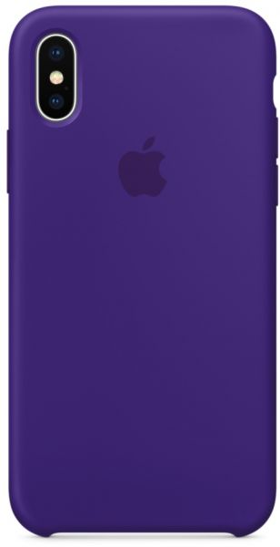 finest selection ef7ab b0ab0 Apple iPhone X Silicone Case - Ultra Violet, MQT72ZM/A