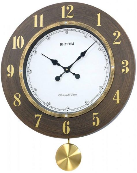 Rhythm Plastic Analog Clock Wall Clocks price review and buy