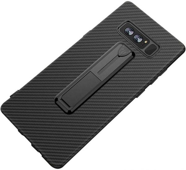 brand new 534d5 8b77a Samsung Galaxy Note 8 Xundo Vision Series Ring Stand Back Case Cover - Black