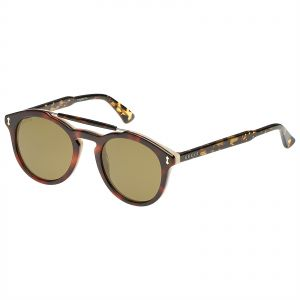 4dd087ed661 Gucci Oval Unisex Sunglasses - GG0124S00450 - 50-22-145 mm