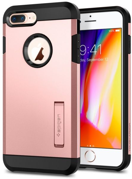 sports shoes c8d2a 7331d Spigen iPhone 8 PLUS / 7 PLUS Tough Armor 2 cover / case - Rose Gold