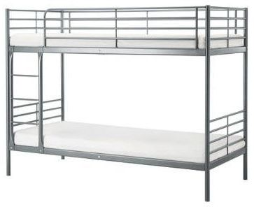 bunk bed mattress sizes. Bunk Bed Grey Color Single With Mattress Size Width 90 X Length 190 Thickness 10cm Sizes H