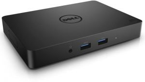 Dell WD15 For USB-C laptops only Dock with 130-Watt Adapter, Dual FHD Display or One QHD Display, 3 x USB 3.0, GB LAN, Genuine UK Dell Part 452-BCDJ