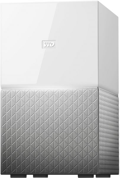 WD My Cloud Home DUO 20 TB Network Attached Storage -WDBMUT0200JWT