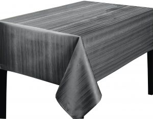 Groovy Benson Mills Flow Heavy Weight Spillproof 52 Inch By 70 Inch Fabric Tablecloth Ivory Gold 52X70 Grey 456815 Caraccident5 Cool Chair Designs And Ideas Caraccident5Info