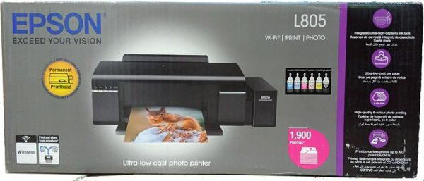 Souq Epson L 805 A 4 Wireless Photo Printer Ink System