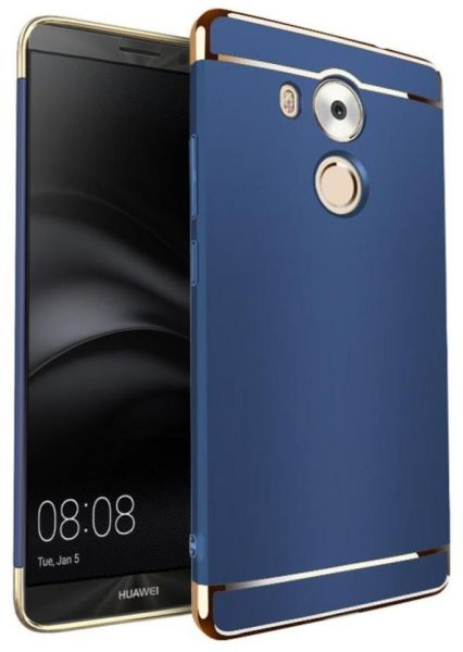 best service 59b13 f3012 Huawei Mate 8 360 Degree Protection Blue Hard Case