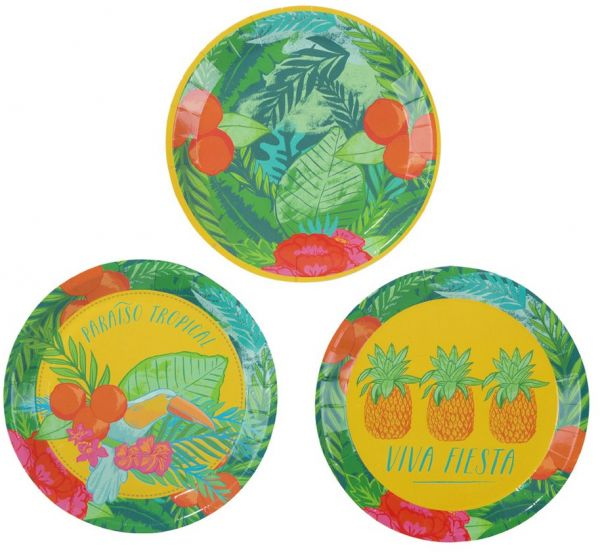 Luau Party Hawaiian Party Party Supplies Paper Plates Cocktail Size 5  Diameter 5  FST2-PLATE-CAN  sc 1 st  Souq.com & Souq | Luau Party Hawaiian Party Party Supplies Paper Plates ...
