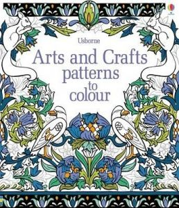 Arts Crafts Patterns To Colour By Hazel Maskell