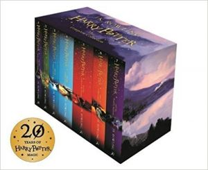 Harry Potter Box Set: The Complete Collection (Children's Paperback) by J.K. Rowling - Paperback