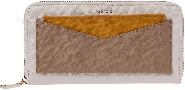 b4db5c60d Parfois Zip Around Wallet for Women, Off White | Souq - Egypt