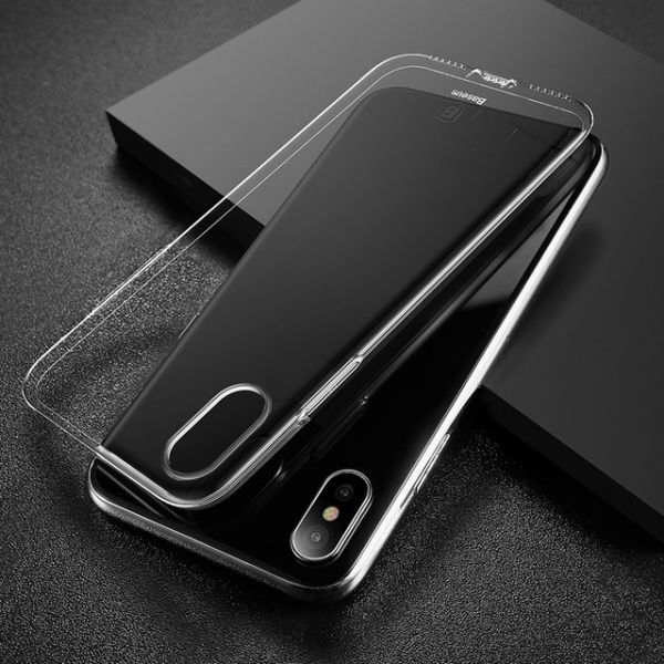 Baseus Luxury Phone Case For iPhone X Ultra Thin - Transparent