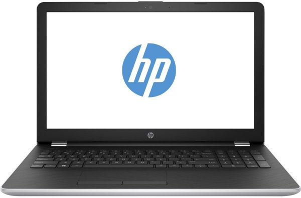 HP 15-bs053od Laptop - Intel Core i7-7500U, 15.6 Inch HD LED, 1TB, 6GB,  Eng-KB, Windows 10, Silver