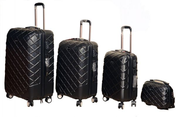 Partner Travel Luggage Trolly Bag 3 Pieces Set And 1 Beauty Case