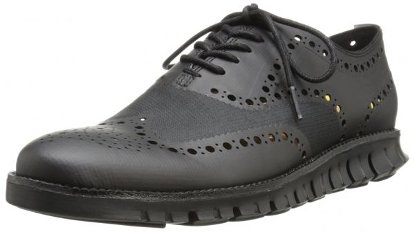 Cole Haan Men's Zerogrand No Stitch Oxford, Black, 8.5 M US