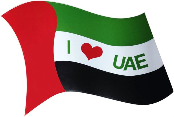 Party magic UAE National Day Car Stickers